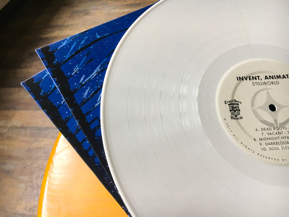 "Invent, Animate ""Stillworld"" White Vinyl"