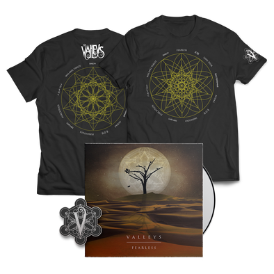 "Valleys - ""Fearless"" Shirt Bundle"