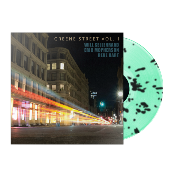 "WILL SELLENRAAD ""GREENE ST VOL. 1"" MINT GREEN/BLACK SPLATTER LP"