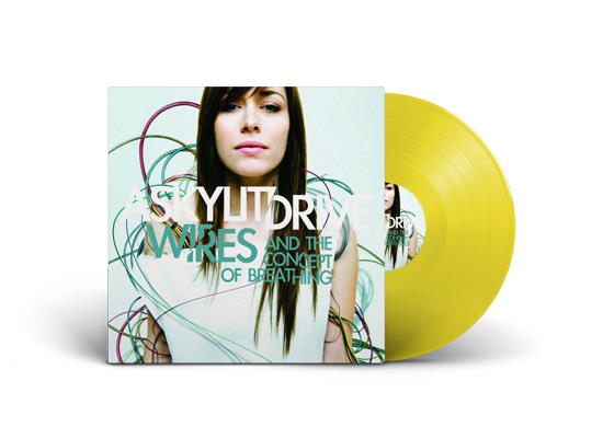 "A Skylit Drive ""Wires and The Concept of Breathing"" Yellow Vinyl"