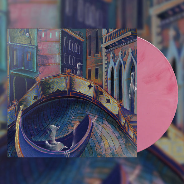 "Strawberry Girls ""Italian Ghosts"" Bubble Gum Pink Tour Variant Vinyl"