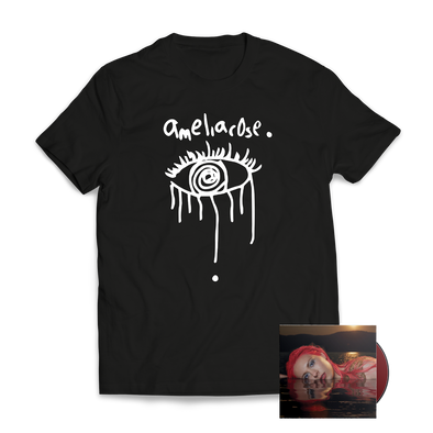 ameliarose - Black T-Shirt/EP Bundle