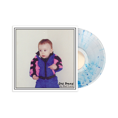 Bad Luck - Cold Bones Vinyl Clear w/ Royal Blue Splatter