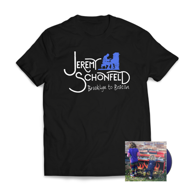 "JEREMY SCHONFELD - ""Brooklyn to Beacon"" Shirt + CD Bundle"