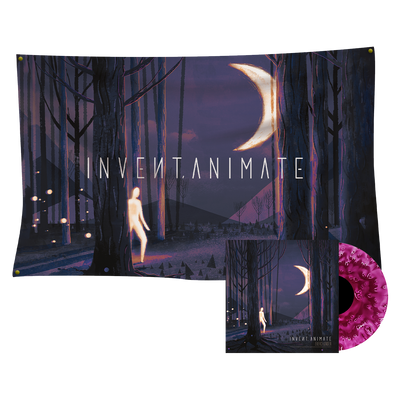 Invent Animate - Everchanger Vinyl (Nocturne Variant) + Wall Flag Bundle