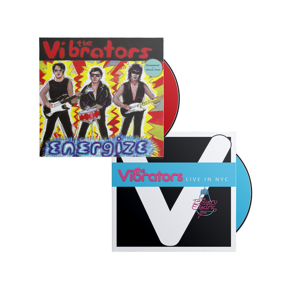 The Vibrators - Energize & Live In NYC CD Bundle