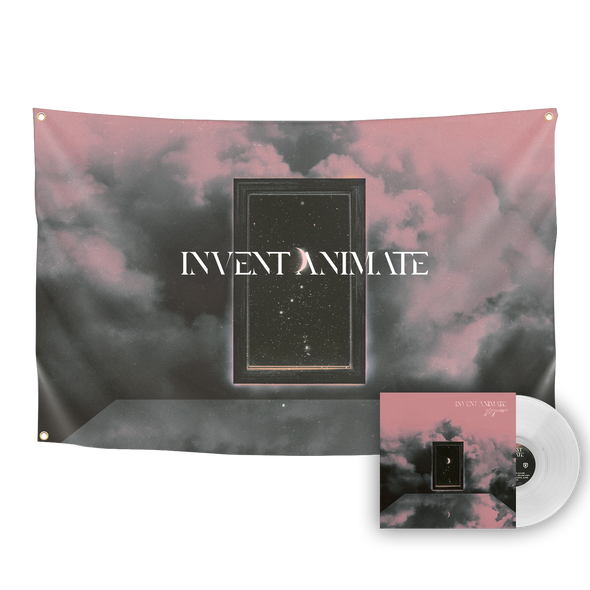Invent Animate - Greyview Vinyl Hollow Light Variant (Clear) and Flag Bundle