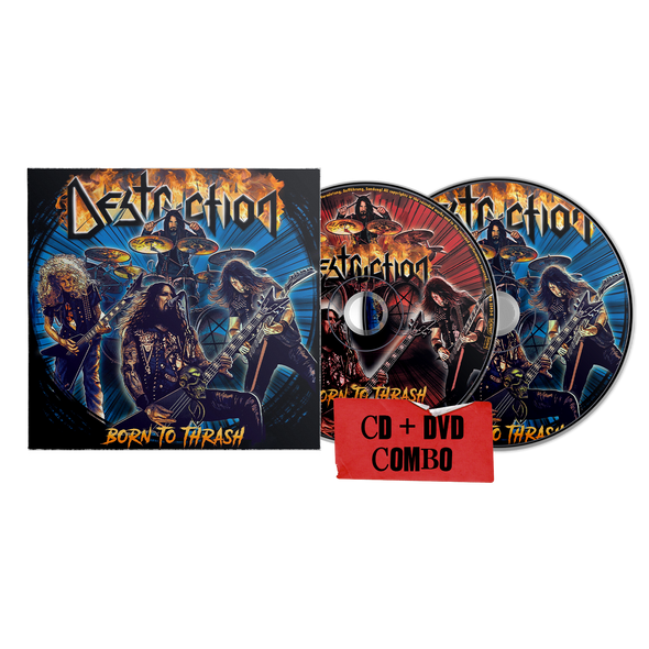 Destruction - Born To Thrash (Live In Germany) CD + DVD Combo