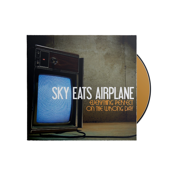 "Sky Eats Airplane ""Everything Perfect on the Wrong Day"" CD"