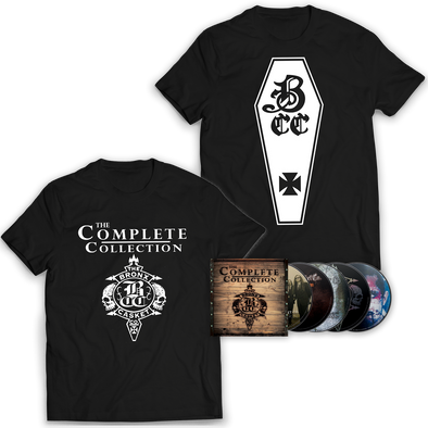 "THE BRONX CASKET CO. ""The Complete Collection"" CD Boxset and T-Shirt Bundle"