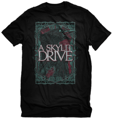 "A Skylit Drive ""Crow"" Black Shirt"