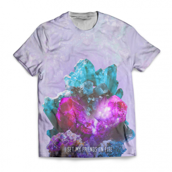 "I Set My Friends on Fire ""Crystal"" Sublimation Shirt"