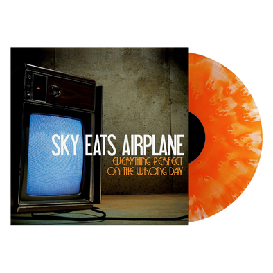 "Sky Eats Airplane - ""Everything Perfect On The Wrong Day"" Ghostly Orange Vinyl"