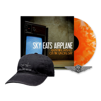 Sky Eats Airplane - E.P.O.T.W.D. Orange Vinyl + Hat Bundle