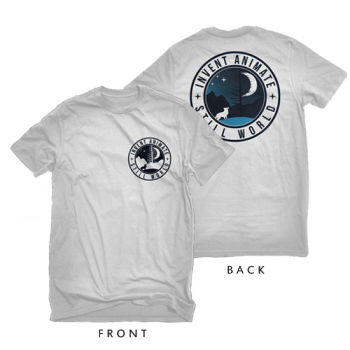 "Invent, Animate White ""Patch"" Tri-blend Shirt"