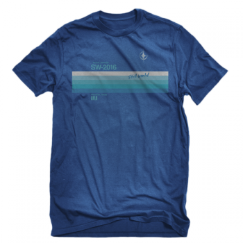 "Invent, Animate ""VHS"" Royal Blue Shirt"