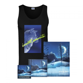 "Invent, Animate ""Wolf Profile"" Black Tank Bundle"