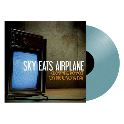 "Sky Eats Airplane - ""Everything Perfect On The Wrong Day"" Translucent Blue Vinyl"