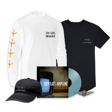 Sky Eats Airplane - E.P.O.T.W.D. Translucent Blue Vinyl Mega Bundle