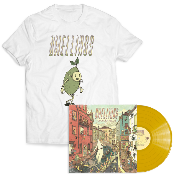 "Dwellings ""Lavender Town"" Lemonade Vinyl + Lime Guy Bundle"