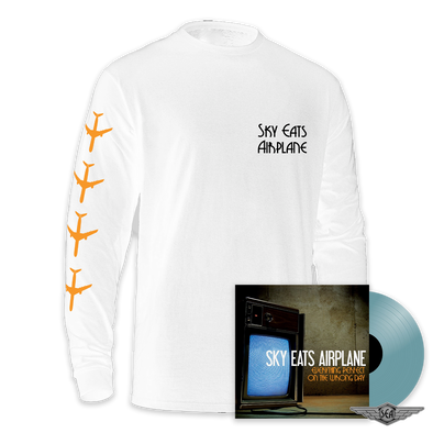 Sky Eats Airplane - E.P.O.T.W.D. Translucent Blue Vinyl + Long Sleeve Bundle