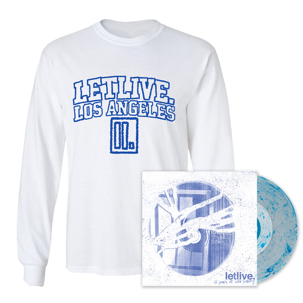 "letlive. ""10 Years of Fake History"" Long Sleeve Bundle"