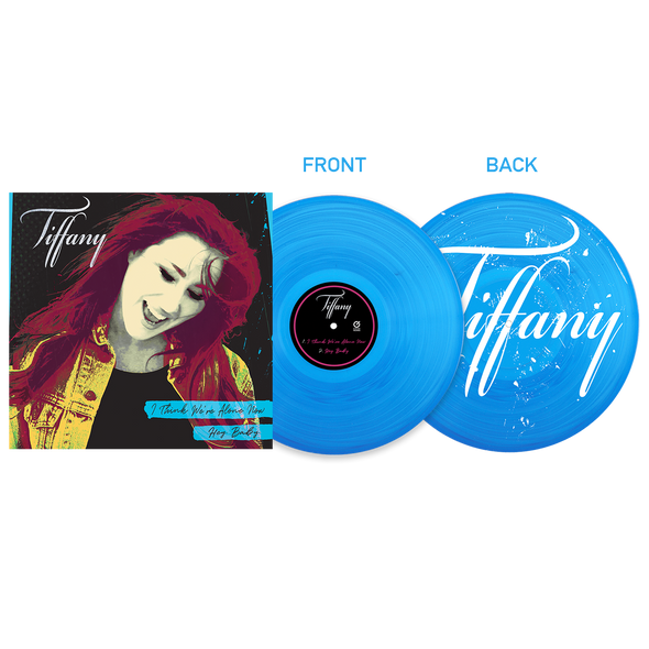"TIFFANY - I Think We're Alone Now/Hey Baby 12"" Single LP"