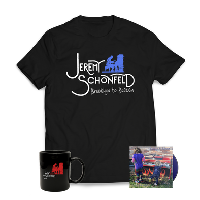 "JEREMY SCHONFELD - ""Brooklyn to Beacon"" Shirt, CD + Mug Bundle"
