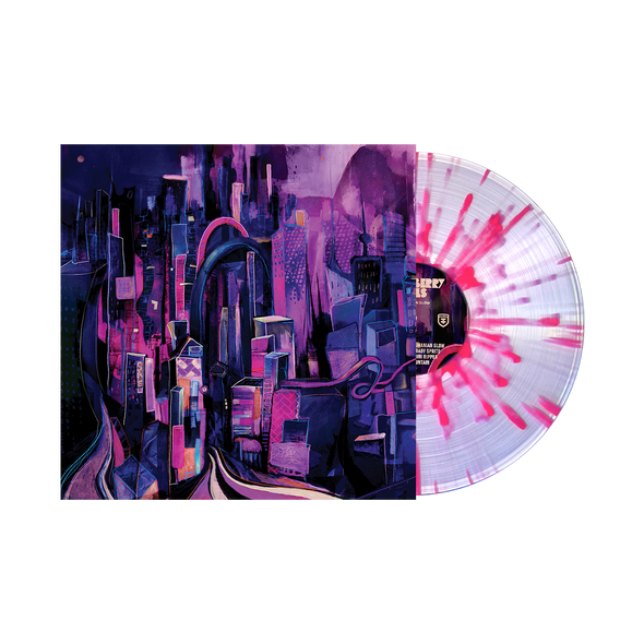 "Strawberry Girls ""Tasmanian Glow"" Vinyl (Clear w/ Pink + Purple Splatter)"