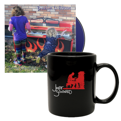 "JEREMY SCHONFELD - ""Brooklyn to Beacon"" CD + Mug Bundle"