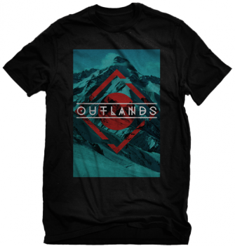 Outlands Blue Mountain Triangle Shirt