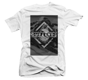 Outlands Gray Mountain Triangle Shirt