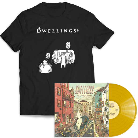 "Dwellings ""Lavender Town"" Lemonade Vinyl + Pill Boys Bundle"
