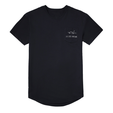 Sky Eats Airplane - E.P.O.T.W.D. Embroidered Pocket Tee