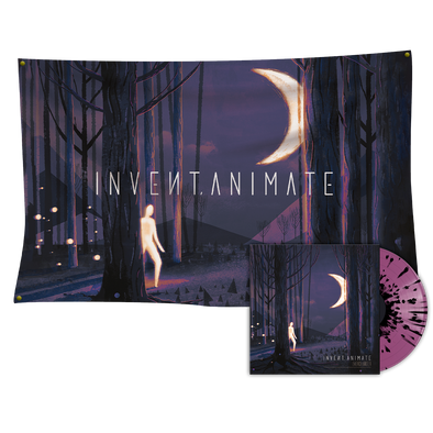 Invent Animate - Everchanger Vinyl (Luna Variant) + Wall Flag Bundle