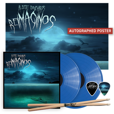 Albert Bouchard - Re Imaginos Vinyl Bundle (2LP) (Royal Blue Variant)