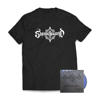 "SHARK ISLAND ""Bloodline 2.020"" CD + Tee Bundle"