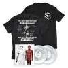 "SET TO STUN - ""SET TO STUN and The Desperado Undead"" Dreamcatchers Vinyl + Resistance Tee"