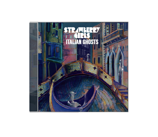 "Strawberry Girls ""Italian Ghosts"" CD"
