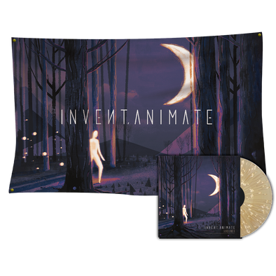 Invent Animate - Everchanger Vinyl (Sol Variant) + Wall Flag Bundle