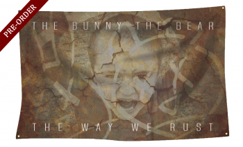 "The Bunny The Bear ""The Way We Rust"" 3x5 Wall Flag"