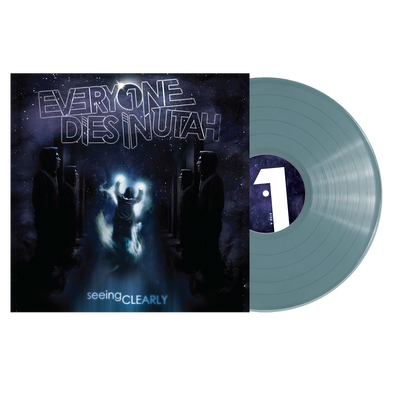 "Everyone Dies In Utah - ""Seeing Clearly"" Translucent Blue Vinyl"