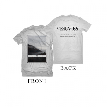 "Vesuvius ""Mountain"" White Shirt"