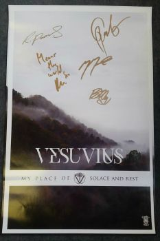 "Vesuvius ""Mountain"" 11x17 Poster Signed"