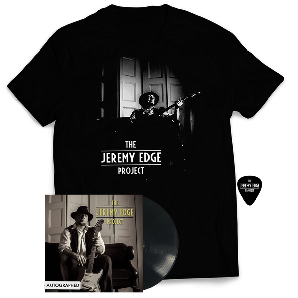 "The Jeremy Edge Project - ""Self-Titled"" Vinyl Bundle (Autographed)"