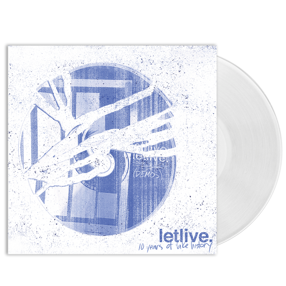 "letlive. ""10 Years of Fake History"" Clear Vinyl"
