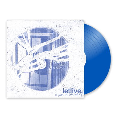 "letlive. ""10 Years of Fake History"" Translucent Blue Vinyl"