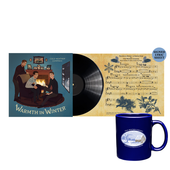 "COLD WEATHER COMPANY - Warmth in Winter 7"" LP + Mug Bundle"