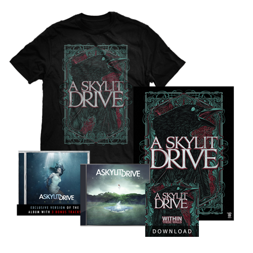 "A Skylit Drive ""Crow""  w/  ""Rise"" CD Bundle"