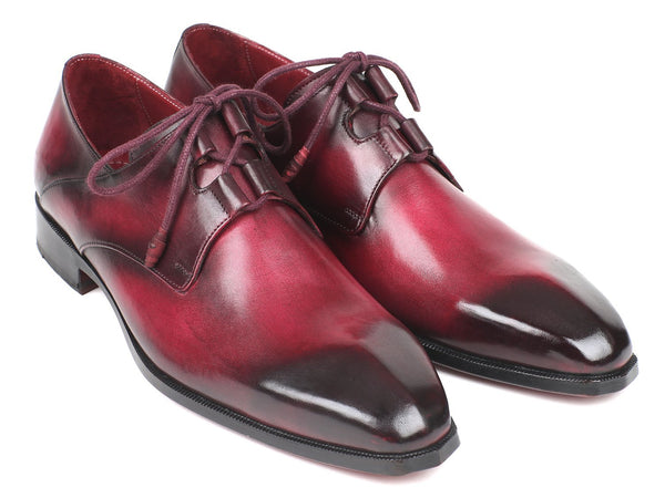 Paul Parkman Ghillie Lacing Bordeaux Dress Shoes (ID#GT515-BRD)